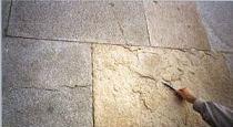 Desplacado de bloques de piedra natural